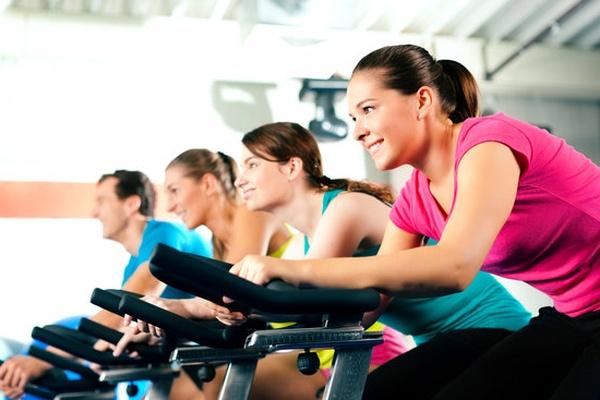 Ποδηλασία στο γυμναστήριο